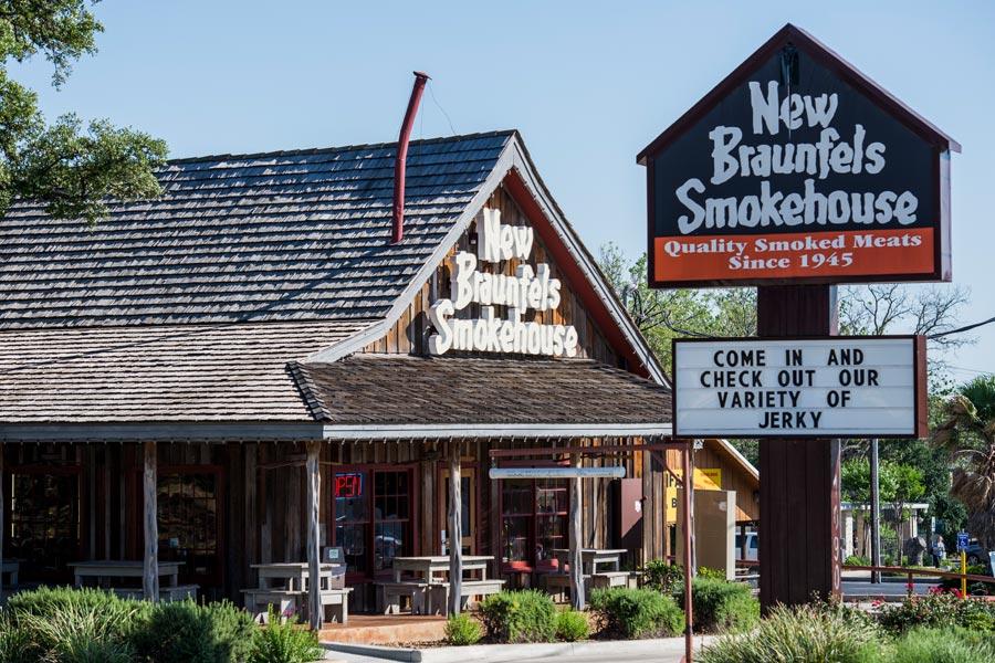 Smokehouse History New Braunfels Smokehouse