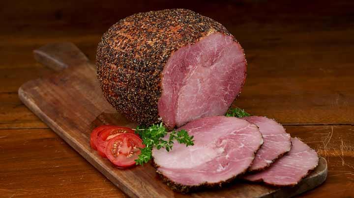 Hill Country Boneless Peppered Buffet Ham (4 - 5 lbs ) | New